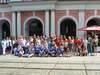 Abschlussfoto aller Preisträger und Wettbewerbspartner des 16. SPW am 23.06.16 vor dem Rostocker Rathaus