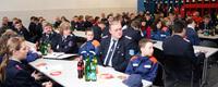 Jahresversammlung der Jugendfeuerwehr des Kreises Parchim.in Spornitz.   Foto: © Michael-Günther Bölsche