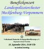 Plakat zur Veranstaltung, Ausschnitt. Volksbund Deutsche Kriegsgräberfürsorge
