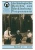Cover Archäologische Berichte aus Mecklenburg-Vorpommern, Beiheft 14/2016