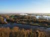 Panoramablick: Die Elbaue bei Boizenburg im Dezember. Foto (c) Archiv Biosphärenreservat Flusslandschaft Elbe