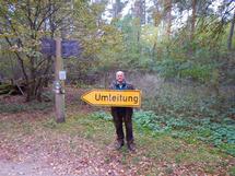 Ranger Manfred Hanitz weiß wo es lang geht. Foto: Martina Fuhrmann, Nationalparkamt Müritz