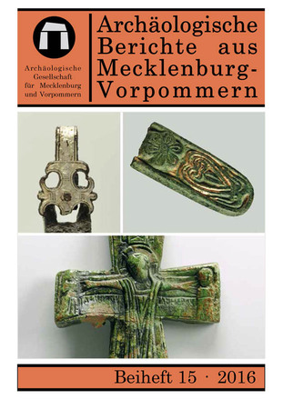 Cover Beiheft 15 der Archäologischen Berichte aus Mecklenburg-Vorpommern