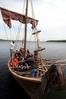 Teilnehmer des GUT DRAUF-Wochenendes auf dem Wikingerschiff WikThor der Alten Schule e.V. auf dem Ratzeburger See, Foto: Gerd Schriefer