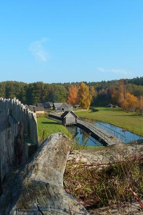 Auch im Herbst und Winter immer einen Besuch wert: das Freigelände in Groß Raden. Foto: LAKD M-V, H. Pilz
