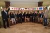Wirtschaftsminister Harry Glawe (5. von links) hat  eine österreichische Gesundheitswirtschafts-Delegation in Empfang genommen. Gemeinsam mit Vertretern der BioCon Valley® Initiative werden Unternehmen der Life Science-Branche und Hochschulen in M-V besucht.