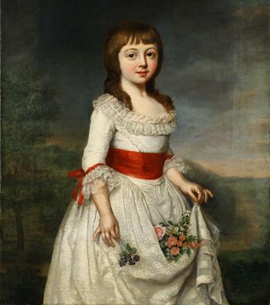 Christoph Friedrich Reinhold Lisiewsky, Prinzessin Charlotte Friederike von Mecklenburg, 1791, Öl auf LW, Sammlung Herzogliches Haus Mecklenburg-Schwerin, © Staatliches Museum Schwerin