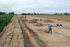 Die Grabung bei Butzow gehörte zu den größten auf den Erdgastrassen. Foto: LAKD MV/LA