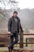 Der ehemalige Umweltpraktikant Christian Kleeblatt aus Neubrandenburg kann ein Praktikum im Müritz-Nationalpark uneingeschränkt empfehlen. Foto: Pauline Sensenhauser, Nationalparkamt Müritz
